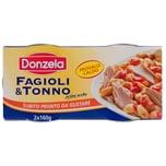 Donzela Fagioli & Tonno Thunfisch Bohnen 2x160g, 320g