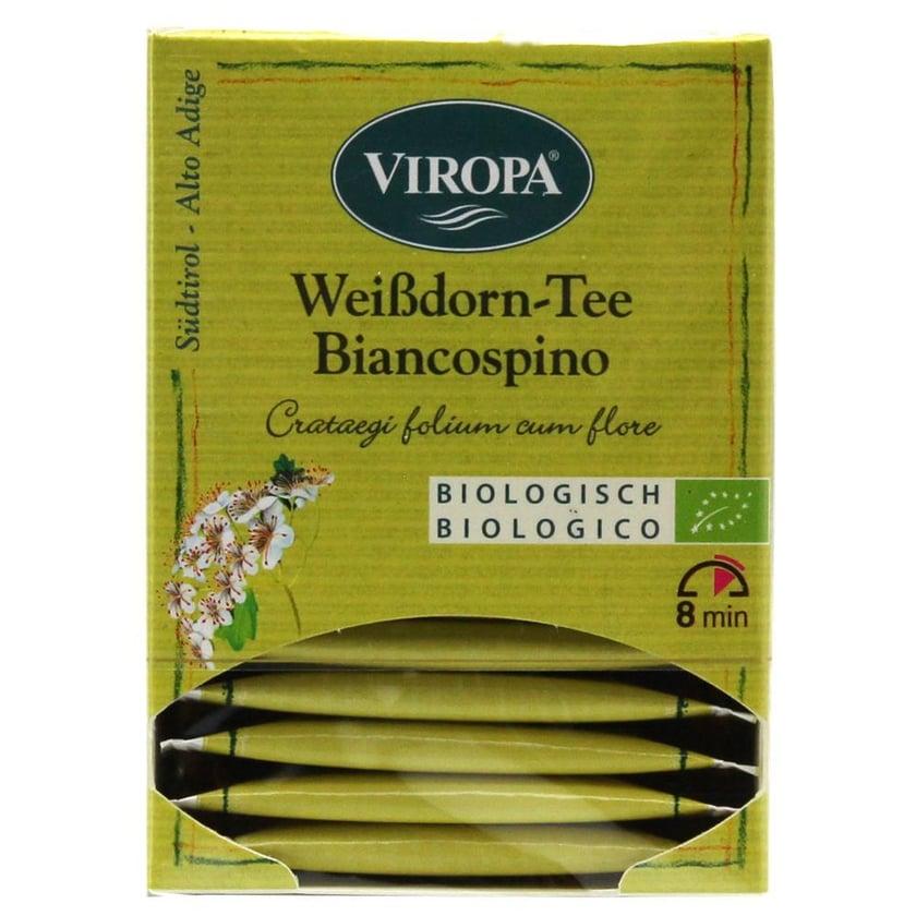 Viropa Weißdorn Tee Biancospino Bio 19,5g