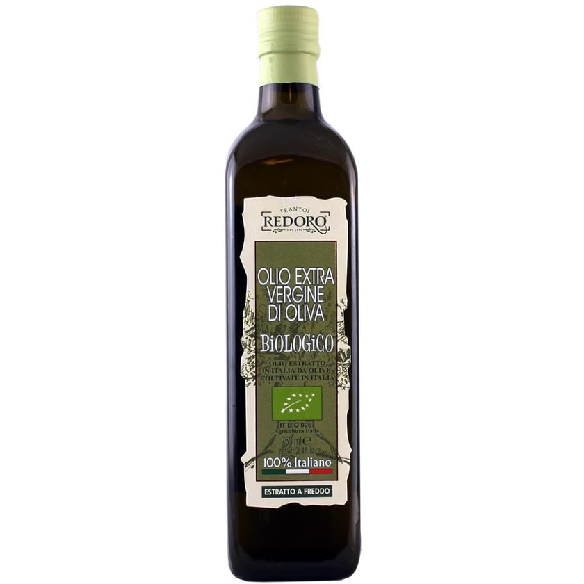 Redoro Biologico Olio Extra Vergine di Oliva 100% Italiano Öl 750ml