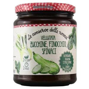 Le Conserve della Nonna Vellutata Zucchine, Finocchio, Spinaci Suppe 490g