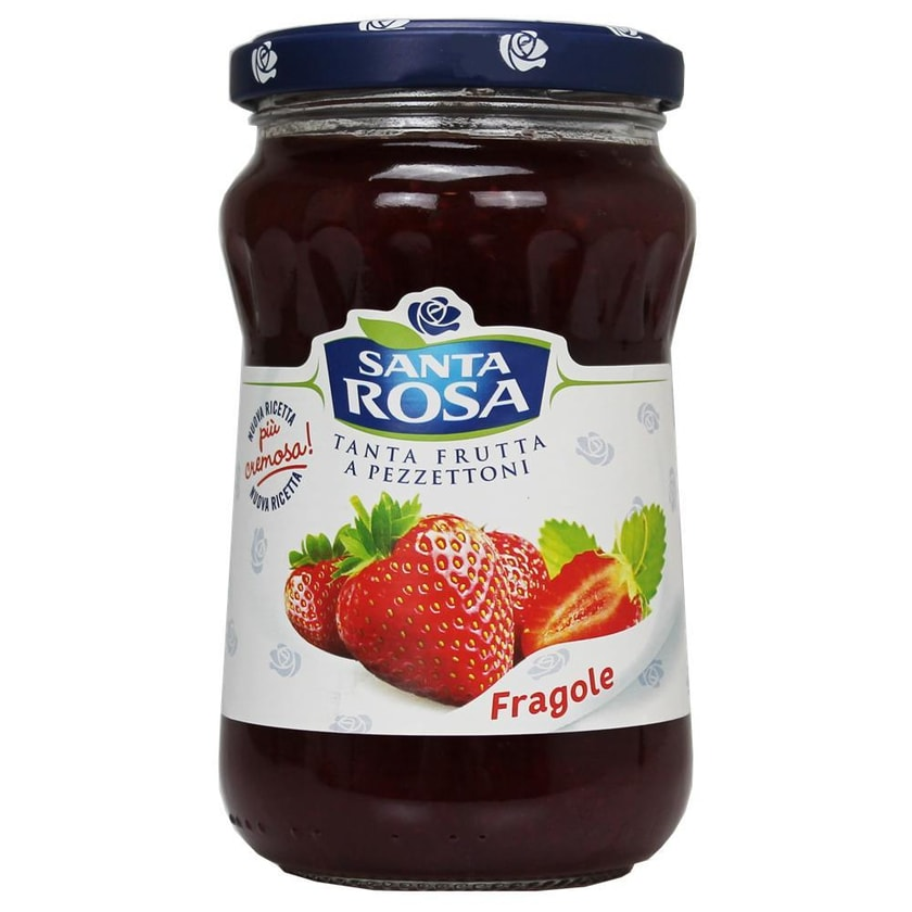 Santa Rosa Fragole Erdbeer Konfitüre 350g