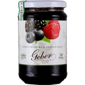Geber Confettura Extra di Frutti di Bosco Beeren Konfitüre 350g