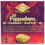 Patak's 10 Pappadums Knoblauch Fladen 100g