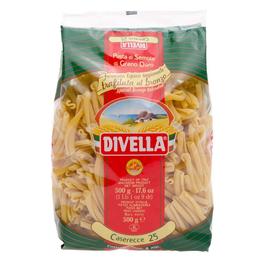 Divella Caserecce 25 Nudeln 500g