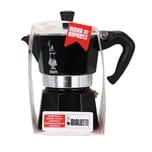 Bialetti Moka Express Nera Kaffeekocher für 3 Tassen 1St.