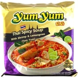 YumYum Thai Spicy Soup (Tom Yum) Nudelsuppe 100g