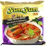 YumYum Thai Spicy Soup - Tom Yum Nudelsuppe 100g