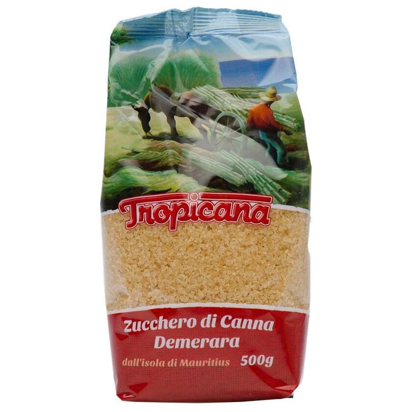 Tropicana Zucchero Grezzo di Canna Demerara Zucker 500g