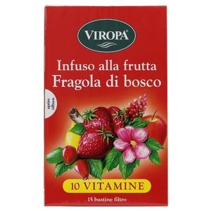Viropa Früchtetee Walderdbeeren Fragola di Bosco 45g