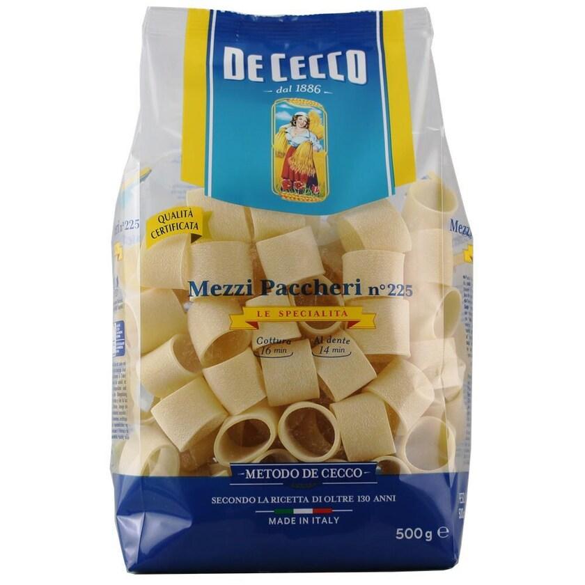 De Cecco Mezzi Paccheri n°225 Le Specialita Nudeln 500g