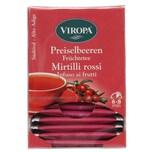 Viropa Preiselbeeren Früchtetee Mirtilli Rossi 37,5g