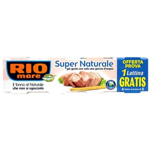 Rio Mare Super Naturale Thunfisch (4x56g)