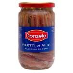 Donzela Filetti di Alici all'Olio di Semi Sardellenfilets 380g