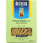 De Cecco Penne Rigate n°41 Biologiche Nudeln 500g