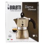 Bialetti Dama Glamour Perla Kaffeekocher für 3 Tassen 1St.