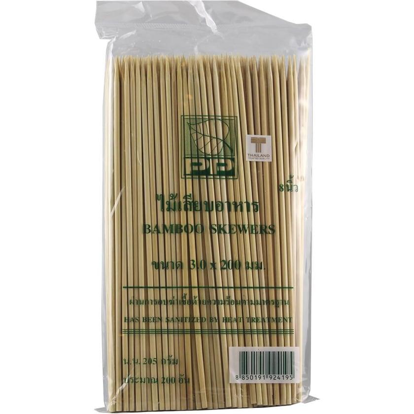 Heuschen & Schrouff Bamboo Sate Stäbchen 20cm 200St.