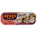 Rio Mare Filetti di Sgombro con Olive Verdi e Nere Makrele 120g