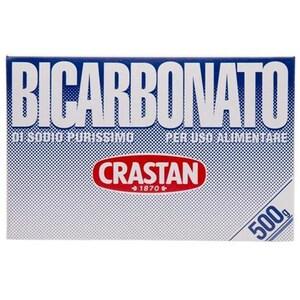 Crastan 1870 Bicarbonato di Sodio Purissimo Natriumbicarbonat 500g