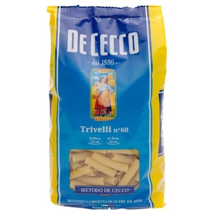 De Cecco Trivelli n°60 Nudeln 500g