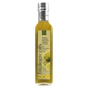 Biologicoils Condimento con Olio Ex.Ver. d'Oliva Arom. al Limone Bio Öl 250ml