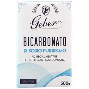 Geber Bicarbonato di Sodio Purissimo Soda 500g