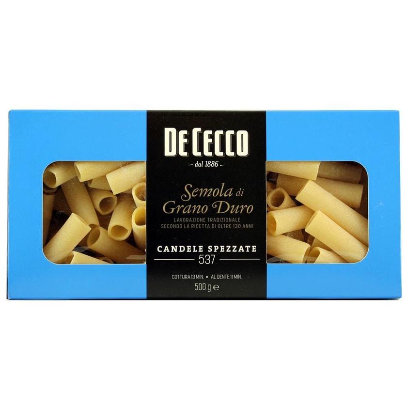 De Cecco Candele Spezzate 537 Linea Gourmet Nudeln 500g
