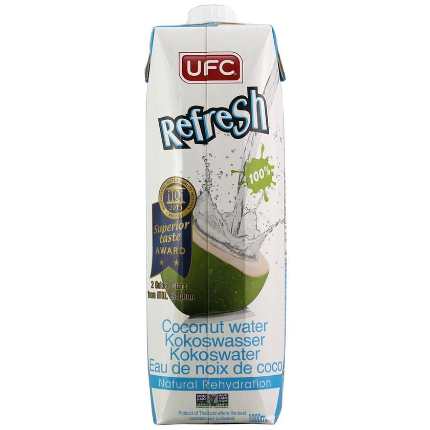 UFC Kokoswasser 100% 1000ml
