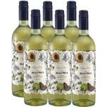 Allumea Grillo Chardonnay DOP Sicilia Organic Weißwein (6x0,75l)