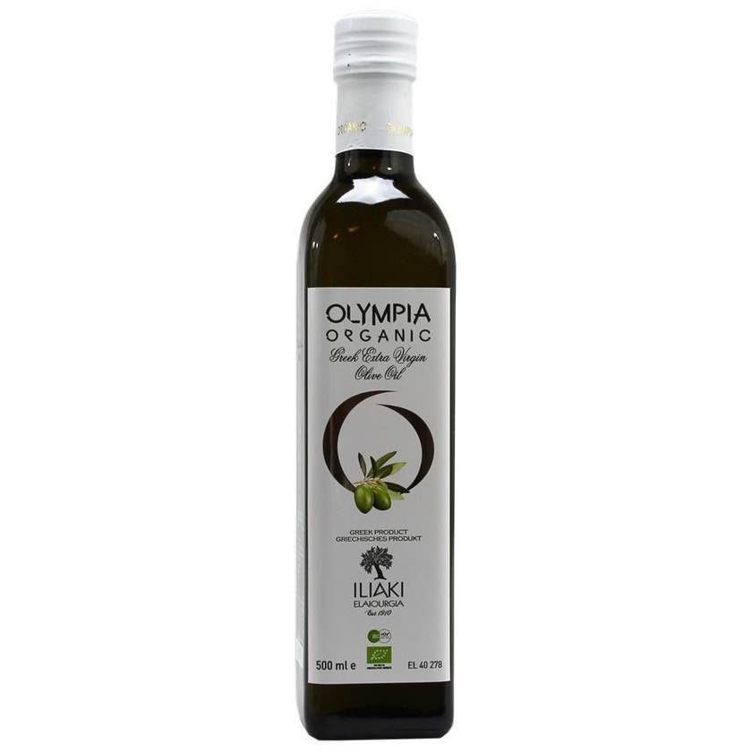 Iliaki Olympia Organic Greek Ex.Ver. Olivenöl 500ml