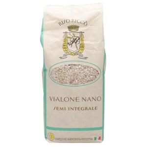 Riso Ricco Vialone Nano Semi Integrale Reis 1kg