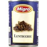 Migro Lenticchie Lessate Linsen 240g