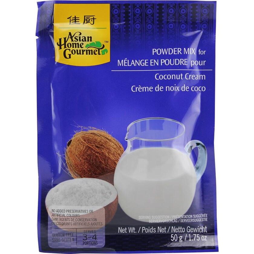 Asian Home Gourmet Powder Mix Coconut Cream Kokoscreme Pulver 50g