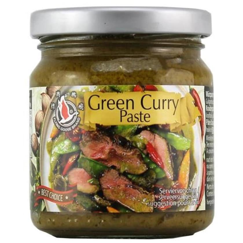 Flying Goose Green Curry Paste 195g