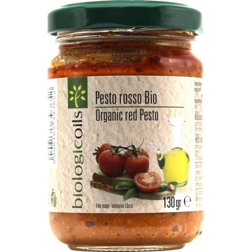 Biologicoils Pesto Rosso Bio 130g