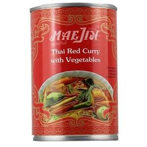 MaeJin Thai Red Curry mit Gemüse 410g