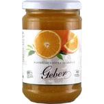 Geber Marmellata Extra di Arance Orangen Marmelade 350g