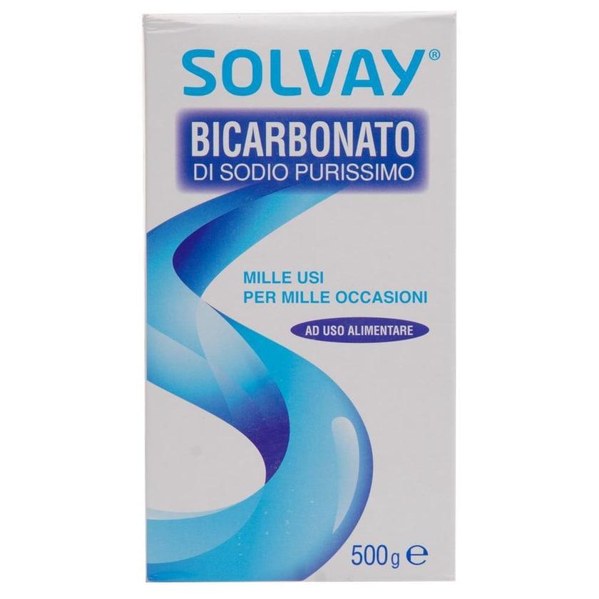 Solvay Bicarbonato di Sodio Purissimo Soda 500g