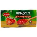 Del Monte Tutta Polpa Pezzetti di Pomodoro Tomatenpulpe (3x240g)