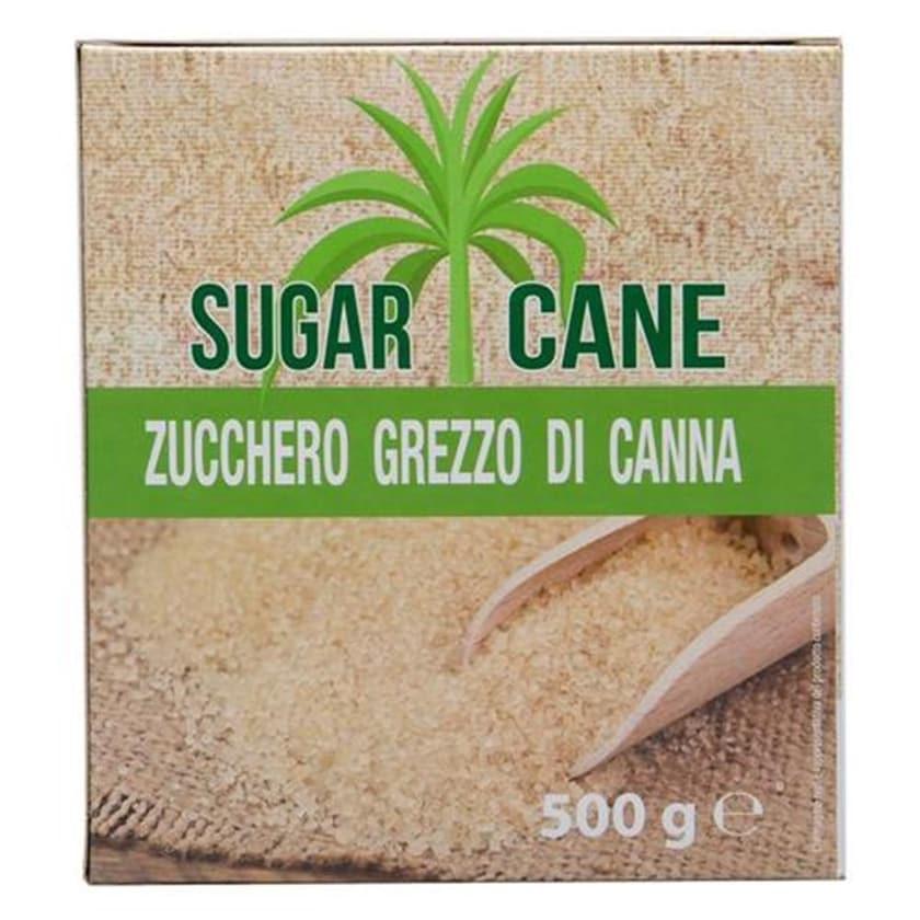 Sugar Cane Zucchero Grezzo di Canna Zucker 500g