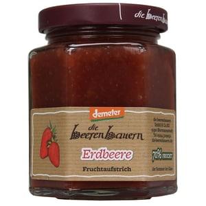 demeter die beerenbauern Bio Erdbeere Fruchtaufstrich 200g