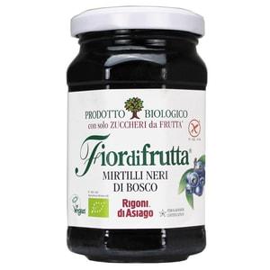 Rigoni di Asiago Fior di frutta Bio Mirtilli Neri di Bosco Wildheidelbeeren Aufstrich 250g