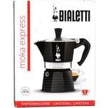 Bialetti Moka Express Nera Kaffekocher für 1 Tasse 1St.