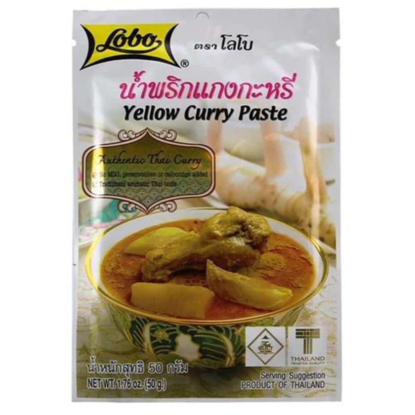 Lobo Gelbe Curry Paste 50g