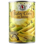 Flying Goose Baby Corn in Brine Maiskölbchen 225g