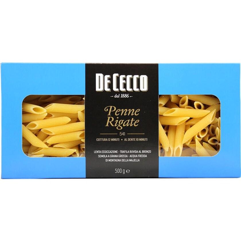 De Cecco Penne Rigate n°541 Linea Gourmet Nudeln 500g