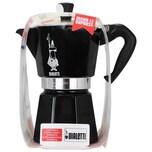 Bialetti Moka Express Nera Kaffeekocher für 6 Tassen 1St.