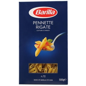Barilla Pennette Rigate N°72 Nudeln 500g