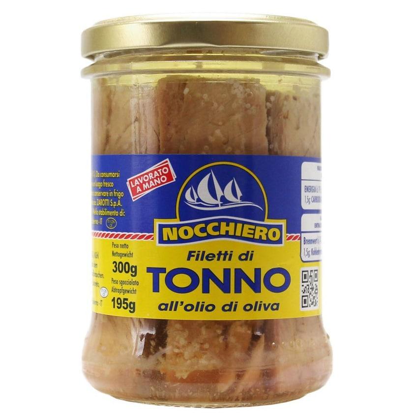 Nocchiero Filetti di Tonno all'Olio di Oliva Thunfischfilets 195g