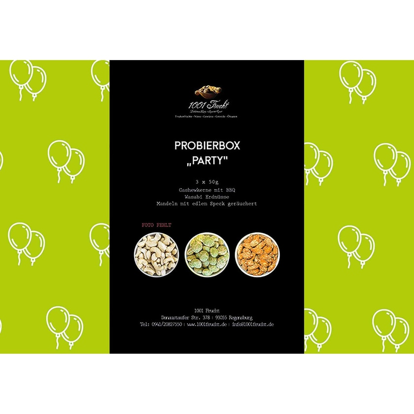 1001 Frucht - Party-Box 150g