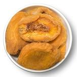1001Frucht Getrocknete Pfirsiche leicht geschwefelt